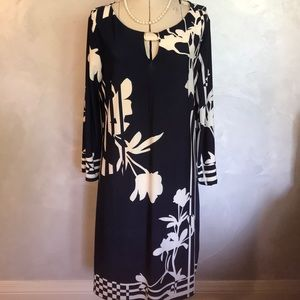 3/$25  Hawaiian Floral Print Knit Dress XL